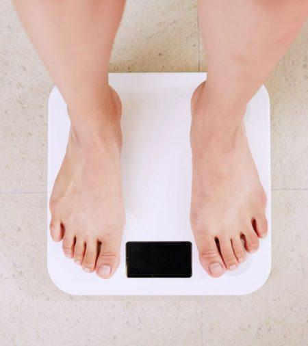 Weegschaal gewicht