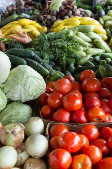 glutenvrij dieet groenten